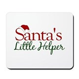 Santa's Little Helper Mousepad