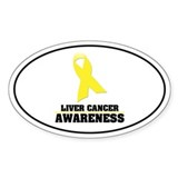 LC Awareness Oval Decal