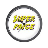 Super paige Wall Clock
