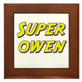 Super owen Framed Tile