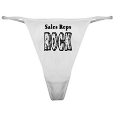 Sales Reps Rock Classic Thong