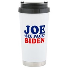 "Joe ""Six Pack"" Biden T-shirt Ceramic Travel Mug"