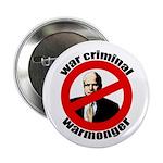 "McCain: Warmonger 2.25"" Button (100 pack)"