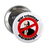 "McCain: Warmonger 2.25"" Button"