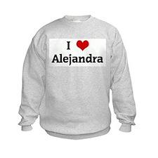 I Love Alejandra Sweatshirt