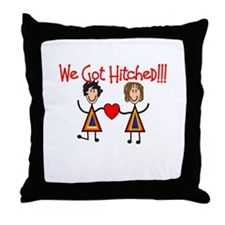 Gay Lesbian Throw Pillow
