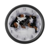 Dreamin Pup Large Wall Clock