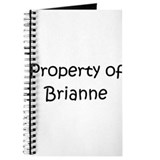 Funny Brianne Journal
