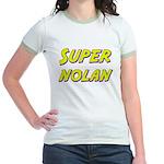 Super nolan Jr. Ringer T-Shirt