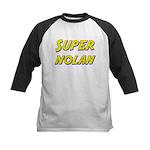 Super nolan Kids Baseball Jersey