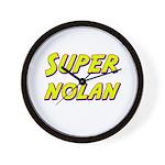Super nolan Wall Clock