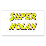 Super nolan Rectangle Sticker