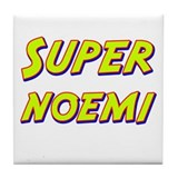 Super noemi Tile Coaster