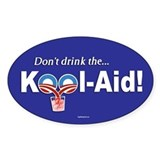 Obama Kool-Aid Oval Decal