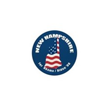 New Hampshire for Obama Mini Button