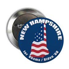 "New Hampshire for Obama 2.25"" Button (100 pack)"