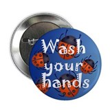 "Infection Control 2.25"" Button (100 pack)"