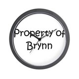 Unique Brynn Wall Clock