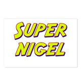 Super nigel Postcards (Package of 8)