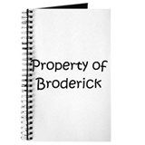 Unique Broderick Journal