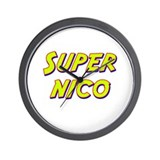 Super nico Wall Clock