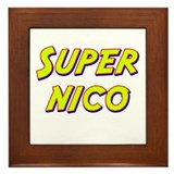 Super nico Framed Tile