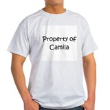 Cute Property of camila T-Shirt