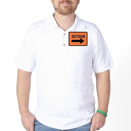 Detour Sign Golf Shirt