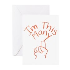 1 This Many Greeting Cards (Pk of 10)