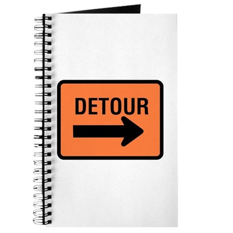 Detour Sign - Journal