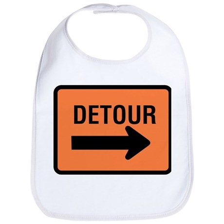 Detour Sign - Bib