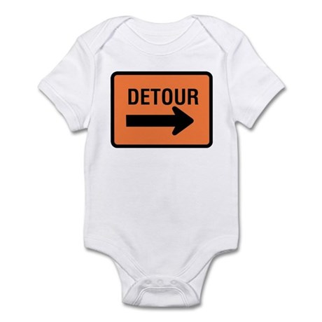 Detour Sign - Infant Creeper