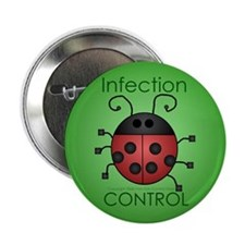 "IC Ladybug 2.25"" Button (100 pack)"