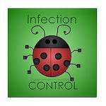 IC Ladybug Tile Coaster
