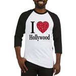 I Love Hollywood Baseball Jersey
