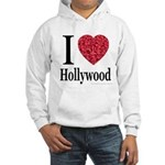 I Love Hollywood Hooded Sweatshirt