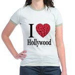 I Love Hollywood Jr. Ringer T-Shirt