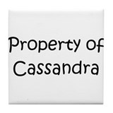 Unique Cassandra Tile Coaster