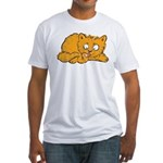 Cute Kitten Fitted T-Shirt