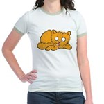 Cute Kitten Jr. Ringer T-Shirt