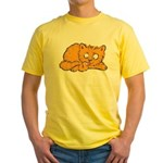 Cute Kitten Yellow T-Shirt