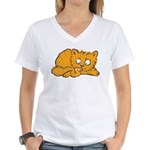 Cute Kitten Women's V-Neck T-Shirt