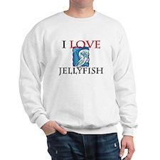 I Love Jellyfish Sweatshirt