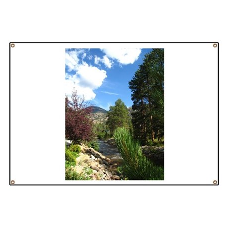 Mountain Stream Banner