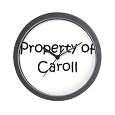 Caroling kids Wall Clock