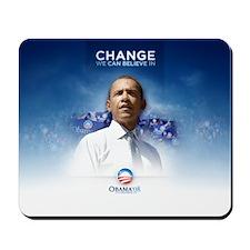 Barack Obama's Souvenir Mousepad