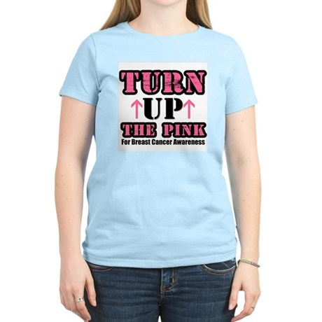Turn Up The Pink (BC) Women's Light T-Shirt