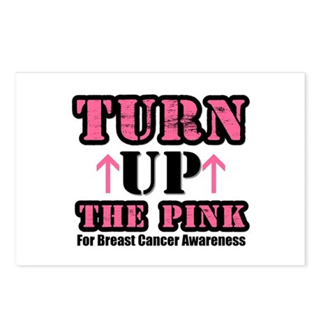 Turn Up The Pink (BC) Postcards (Package of 8)