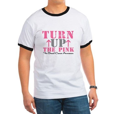 Turn Up The Pink (BC2) Ringer T