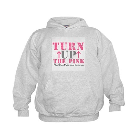 Turn Up The Pink (BC2) Kids Hoodie